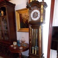 Relojes de pie: BELLO Y GRAN RELOJ DE PIE LAFUENTE. Lote 210430310