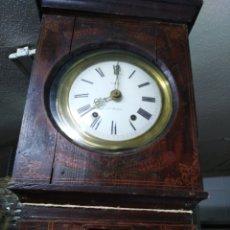 Relógios de pé: RELOJ DE MOREZ DE CAJA DE MADERA ALTO 242. Lote 212757221