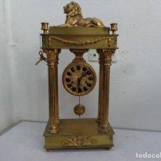 Relojes de pie: + 100 AÑOS, IMPRESIONANTE GRANDE RELOJ CUERDAS CON SONERIA HORAS MEDIAS FUNCIONANDO COMPLETO. Lote 213796906