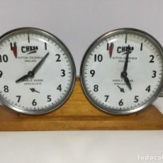 Relógios de pé: ANTIGUO RELOJ DOBLE CRONOMETRO AJEDREZ Nº2. Lote 213940820
