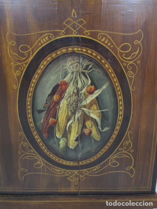 Relojes de pie: Antiguo Reloj de Pie - Maquina Morez - Péndulo de Lira - Completo - Funciona - S. XIX - Foto 6 - 216359350