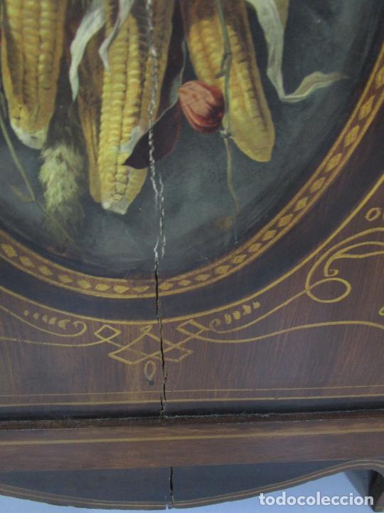 Relojes de pie: Antiguo Reloj de Pie - Maquina Morez - Péndulo de Lira - Completo - Funciona - S. XIX - Foto 7 - 216359350