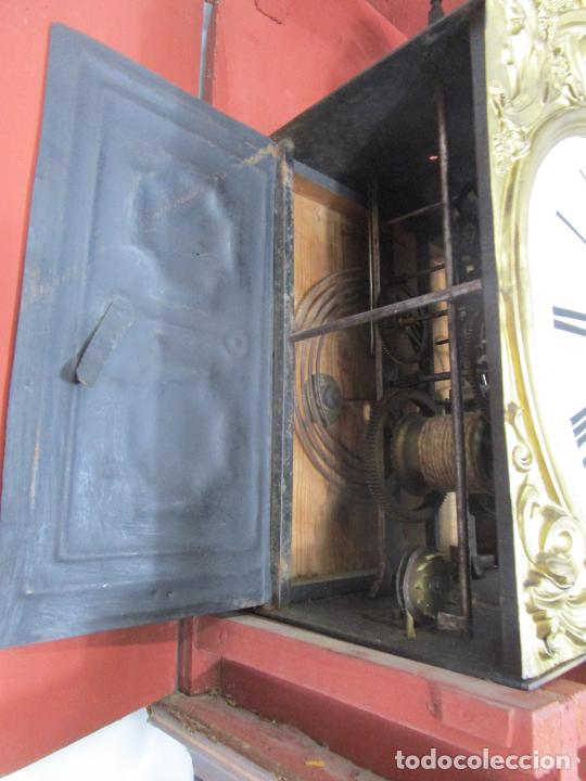 Relojes de pie: Antiguo Reloj de Pie - Maquina Morez - Péndulo de Lira - Completo - Funciona - S. XIX - Foto 24 - 216359350
