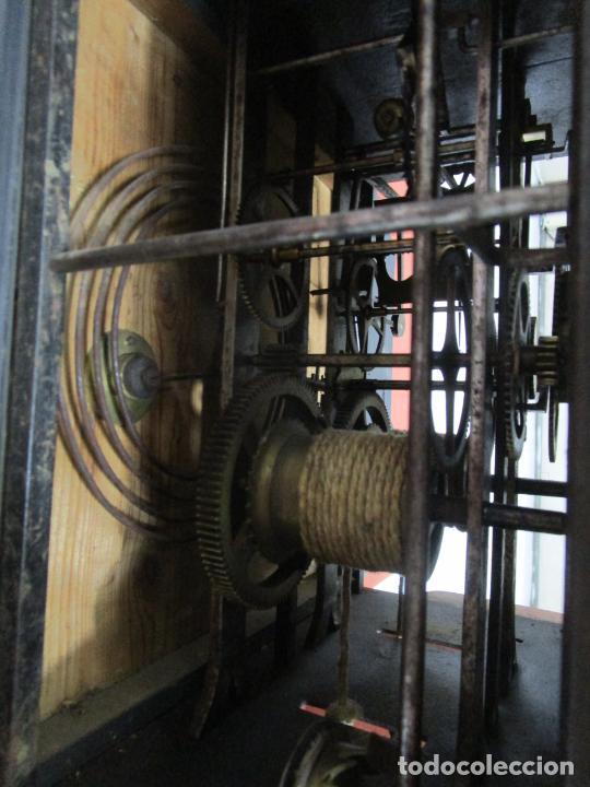 Relojes de pie: Antiguo Reloj de Pie - Maquina Morez - Péndulo de Lira - Completo - Funciona - S. XIX - Foto 25 - 216359350