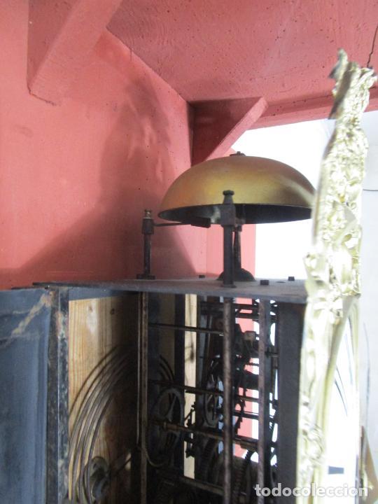 Relojes de pie: Antiguo Reloj de Pie - Maquina Morez - Péndulo de Lira - Completo - Funciona - S. XIX - Foto 26 - 216359350