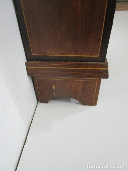 Relojes de pie: Antiguo Reloj de Pie - Maquina Morez - Péndulo de Lira - Completo - Funciona - S. XIX - Foto 28 - 216359350