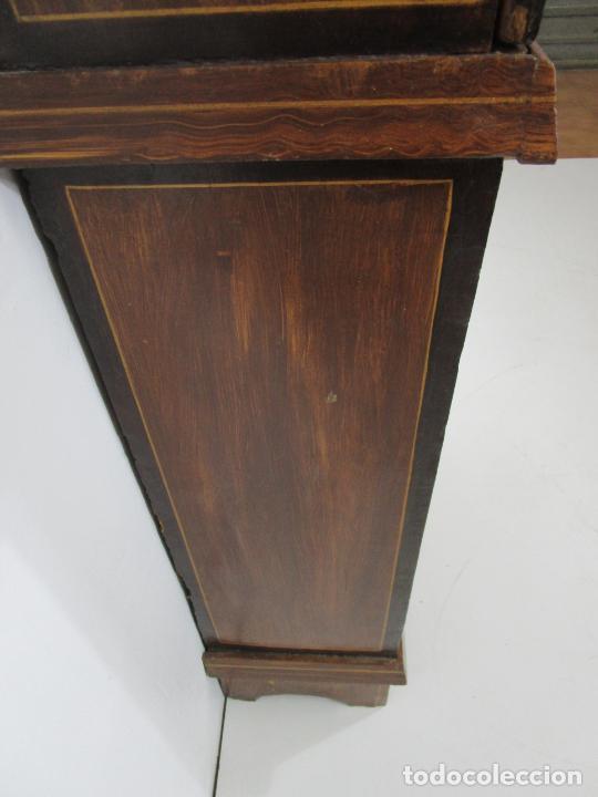 Relojes de pie: Antiguo Reloj de Pie - Maquina Morez - Péndulo de Lira - Completo - Funciona - S. XIX - Foto 29 - 216359350