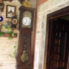 Relojes de pie: PRECIOSO RELOJ MOREZ DE PESAS Y MUEBLE- AÑO 1870-MUY BUEN FUNCIONAMIENTO-LOTE 313. Lote 221073155