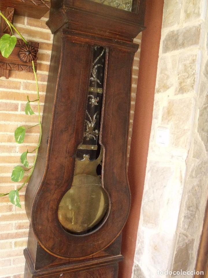 Relojes de pie: PRECIOSO RELOJ MOREZ DE PESAS Y MUEBLE- AÑO 1870-MUY BUEN FUNCIONAMIENTO-LOTE 313 - Foto 4 - 221073155