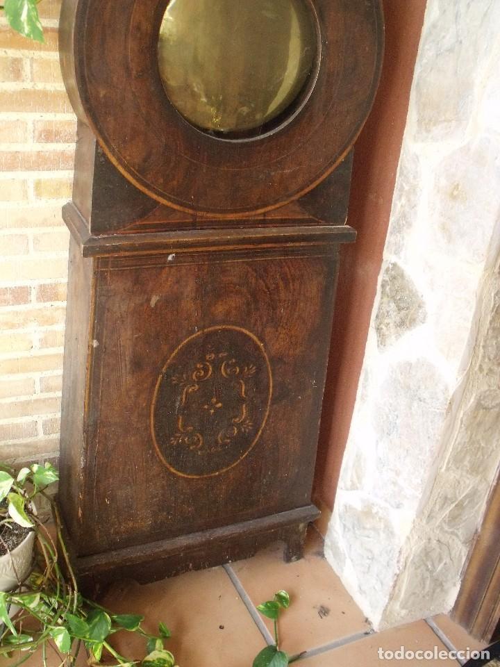 Relojes de pie: PRECIOSO RELOJ MOREZ DE PESAS Y MUEBLE- AÑO 1870-MUY BUEN FUNCIONAMIENTO-LOTE 313 - Foto 5 - 221073155