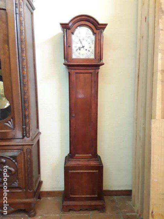 Relojes de pie: Reloj alemán Gong Tempus Fugit. En funcionamiento; da las horas y las medias. - Foto 3 - 230739490