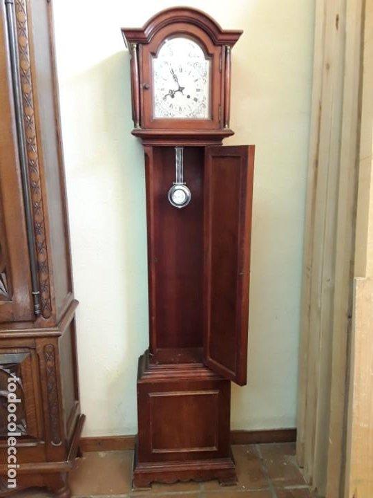 Relojes de pie: Reloj alemán Gong Tempus Fugit. En funcionamiento; da las horas y las medias. - Foto 4 - 230739490