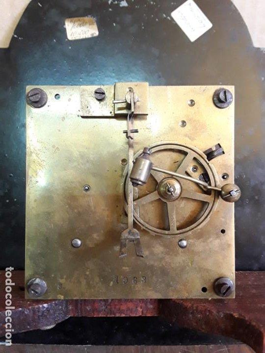 Relojes de pie: Reloj alemán Gong Tempus Fugit. En funcionamiento; da las horas y las medias. - Foto 6 - 230739490