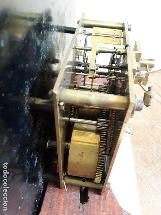 Relojes de pie: Reloj alemán Gong Tempus Fugit. En funcionamiento; da las horas y las medias. - Foto 7 - 230739490