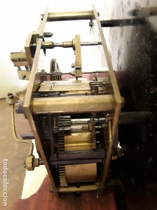 Relojes de pie: Reloj alemán Gong Tempus Fugit. En funcionamiento; da las horas y las medias. - Foto 8 - 230739490