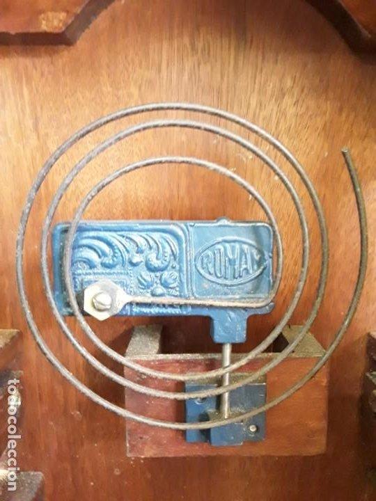 Relojes de pie: Reloj alemán Gong Tempus Fugit. En funcionamiento; da las horas y las medias. - Foto 9 - 230739490