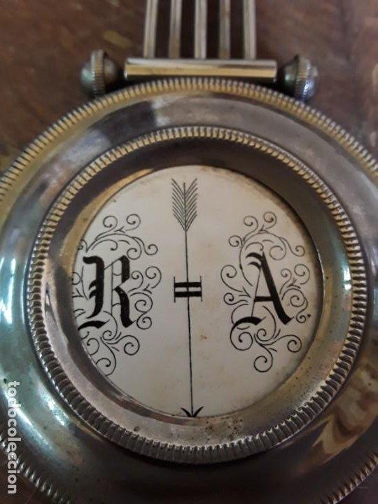 Relojes de pie: Reloj alemán Gong Tempus Fugit. En funcionamiento; da las horas y las medias. - Foto 11 - 230739490