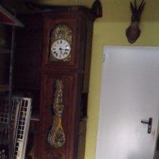 Relojes de pie: MUY BONITO RELOJ MOREZ MUEBLE BRETON ROBLE-PERFECTO ESTADO- LOTE 313- AÑO 1880. Lote 222355740