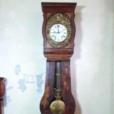 Horloges de parquet: RELOJ MOREZ DE MATRIMONIO. EN ESTADO DE MARCHA, CON CALENDARIO. ENVÍO A ESPAÑA PENINSULAR GRATIS. Lote 223712141