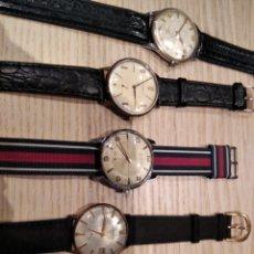 Horloges de parquet: 5 RELOJES EXACTUS RECORD TECHNOS TITÁN DUWARD.. Lote 226035470