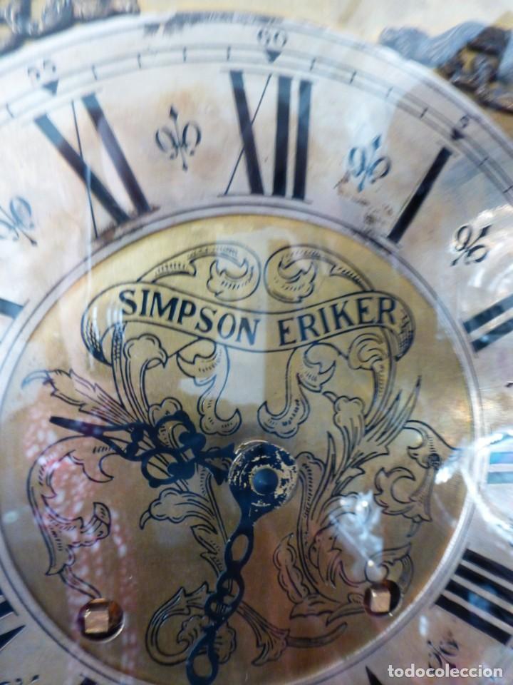 Relojes de pie: RELOJ INGLÉS SIMPSON ERIKER - Foto 2 - 226621515