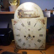 Horloges de parquet: ANTIGUA MÁQUINA INGLESA DE 8 DÍAS PARA RELOJ DE PIE, ALREDEDOR DE 1850, WILSON BIRMA.. Lote 228507995