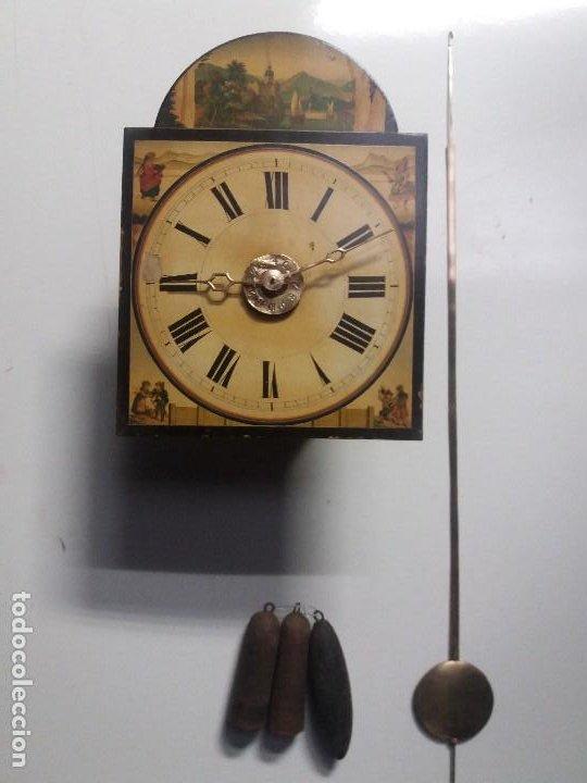 RELOJ RATERA DE DOS CAMPANAS (Relojes - Pie Carga Manual)