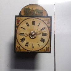 Relojes de pie: RELOJ RATERA DE DOS CAMPANAS. Lote 229478795