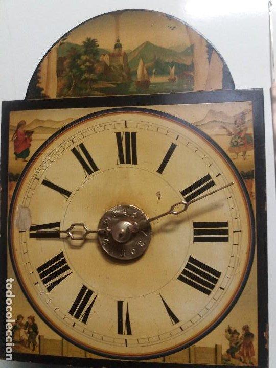 Relojes de pie: Reloj ratera de dos campanas - Foto 2 - 229478795