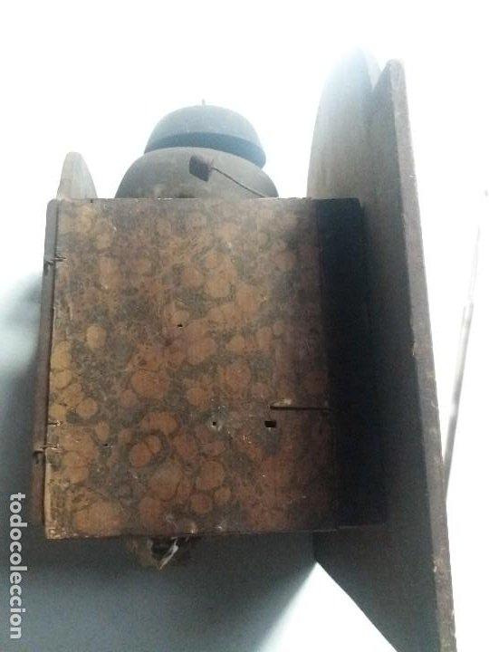 Relojes de pie: Reloj ratera de dos campanas - Foto 3 - 229478795