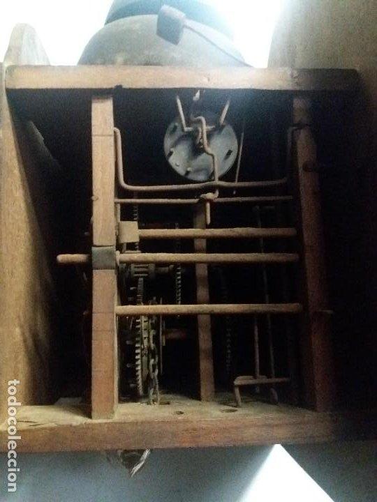 Relojes de pie: Reloj ratera de dos campanas - Foto 4 - 229478795