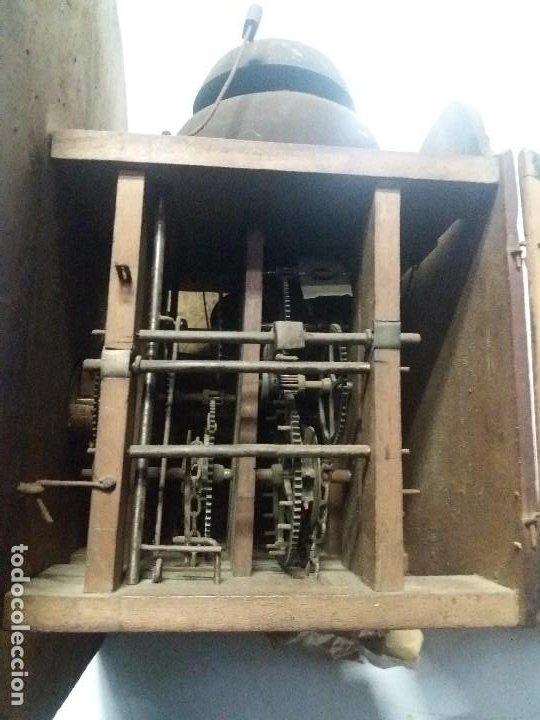 Relojes de pie: Reloj ratera de dos campanas - Foto 5 - 229478795