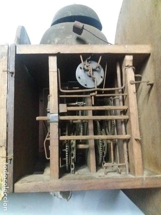 Relojes de pie: Reloj ratera de dos campanas - Foto 8 - 229478795