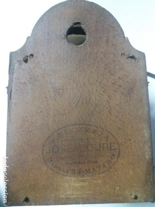 Relojes de pie: Reloj ratera de dos campanas - Foto 9 - 229478795