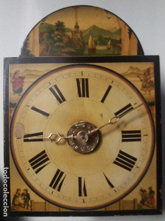 Relojes de pie: Reloj ratera de dos campanas - Foto 11 - 229478795