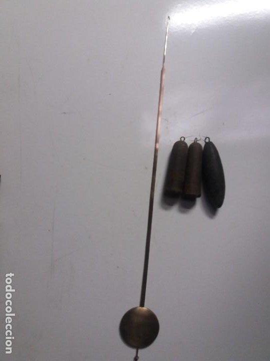 Relojes de pie: Reloj ratera de dos campanas - Foto 12 - 229478795