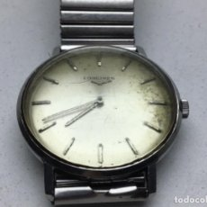 Horloges de parquet: ANTIGUO RELOJ LONGINES - CARGA MANUAL - CALIBRE 19.4 - FUNCIONA. Lote 230705140