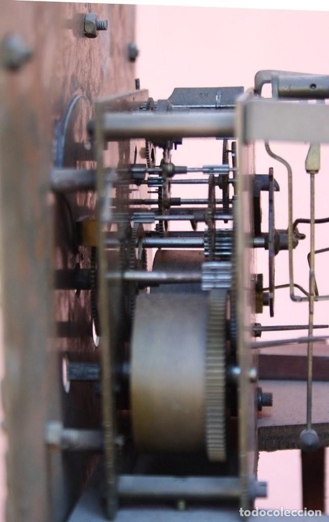 Relojes de pie: RELOJ DE PIE HIYGS Y DIEGO EVANS LONDRES CARGA MANUAL SONERIA HORAS Y MEDIAS CAJA MADERA FOTOGRAFIAS - Foto 12 - 232638175