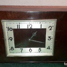 Relojes de pie: RELOJ DE MADERA ART-DECO. Lote 234899825