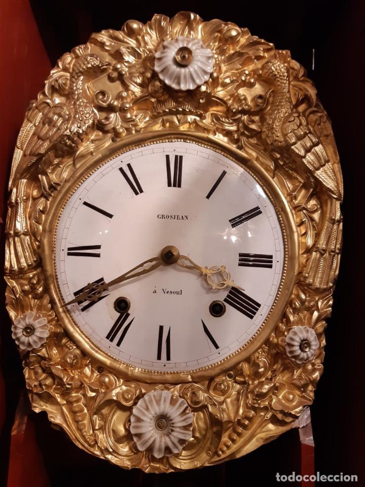 Relojes de pie: RELOJ ANTIGUO DE PIE MOREZ (siglo XIX) - Foto 5 - 27287195