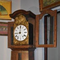 Relojes de pie: ESPECTACULAR RELOJ ANTIGUO DE PIE MOREZ. Lote 239388285
