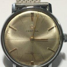 Relógios de pé: RELOJ CERTINA CARGA MANUAL MAQUINARIA 28-10 VINTAGE EN FUNCIONAMIENTO. Lote 239680420