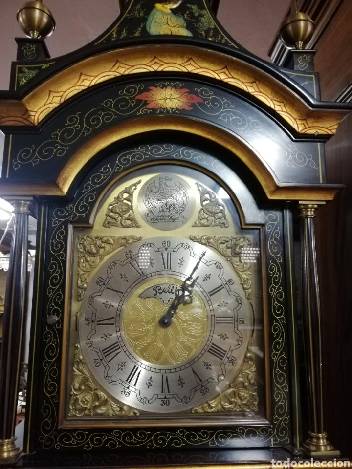 Relojes de pie: Reloj motivos chinos, funciona perfectamente - Foto 7 - 240189310