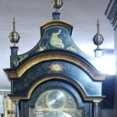 Relojes de pie: RELOJ MOTIVOS CHINOS, FUNCIONA PERFECTAMENTE. Lote 240189310