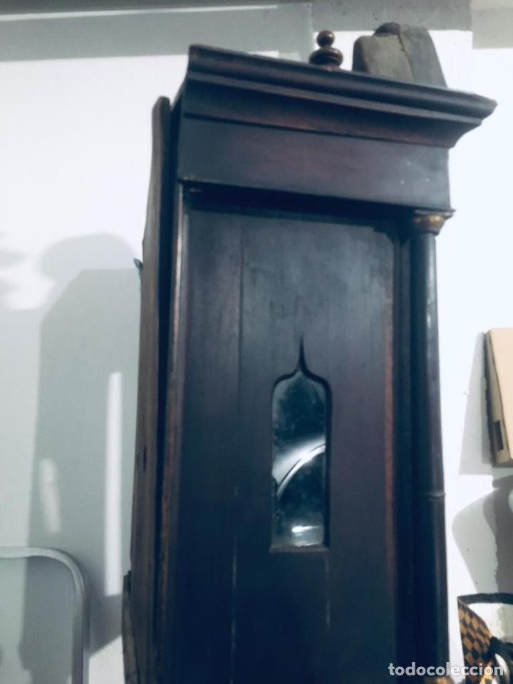 Relojes de pie: ANTIGUO RELOJ INGLÉS DE PIE - SIGLO XVIII - FUNCIONANDO - Foto 20 - 143546901