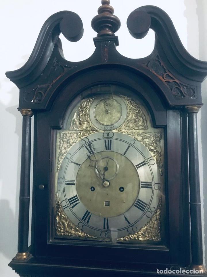 Relojes de pie: ANTIGUO RELOJ INGLÉS DE PIE - SIGLO XVIII - FUNCIONANDO - Foto 21 - 143546901