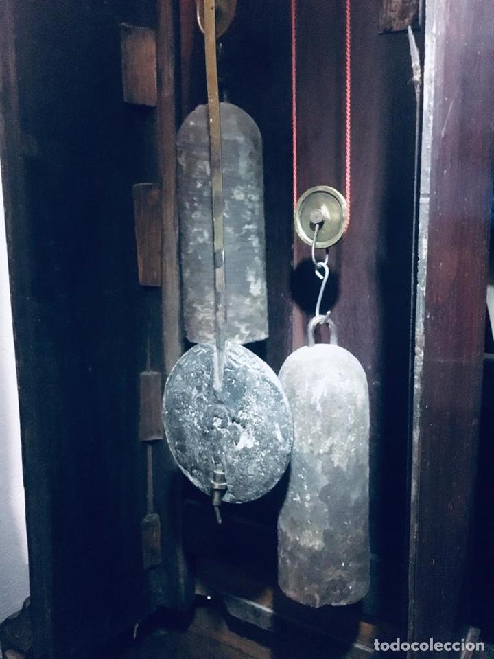 Relojes de pie: ANTIGUO RELOJ INGLÉS DE PIE - SIGLO XVIII - FUNCIONANDO - Foto 24 - 143546901