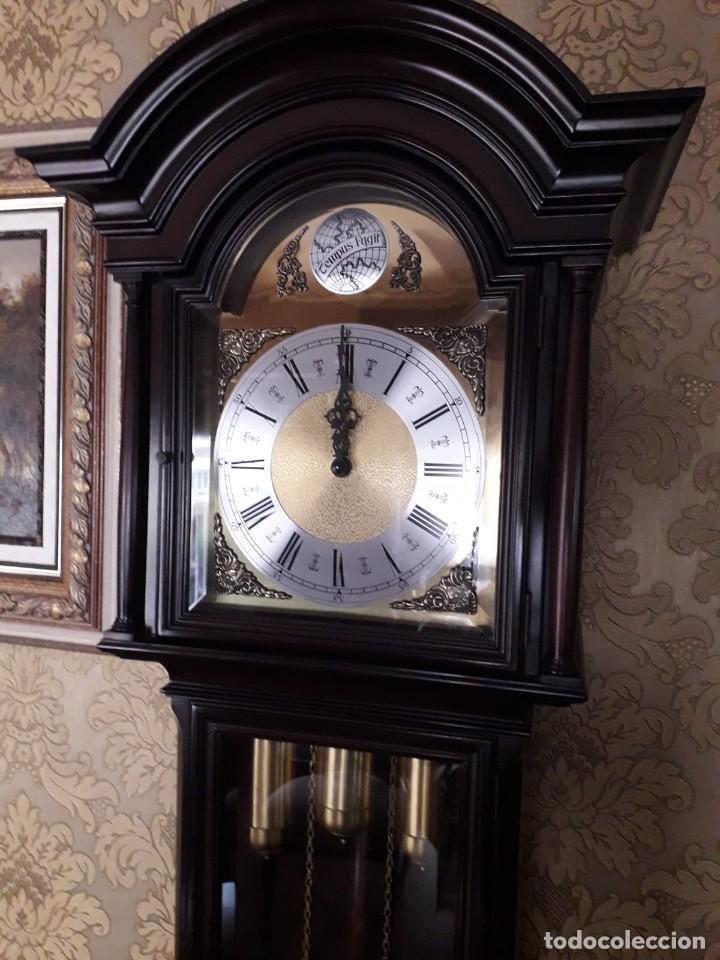 RELOJ CARRILLON TEMPUS FUGIT (Relojes - Pie Carga Manual)