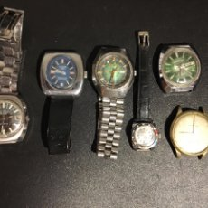 Relojes de pie: LOTE DE RELOJES SICURA, KRONOS, THERMIDOR, ETC. Lote 244907155