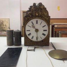 Relojes de pie: RELOJ MORÉ DE 3 CAMPANAS. Lote 245569300